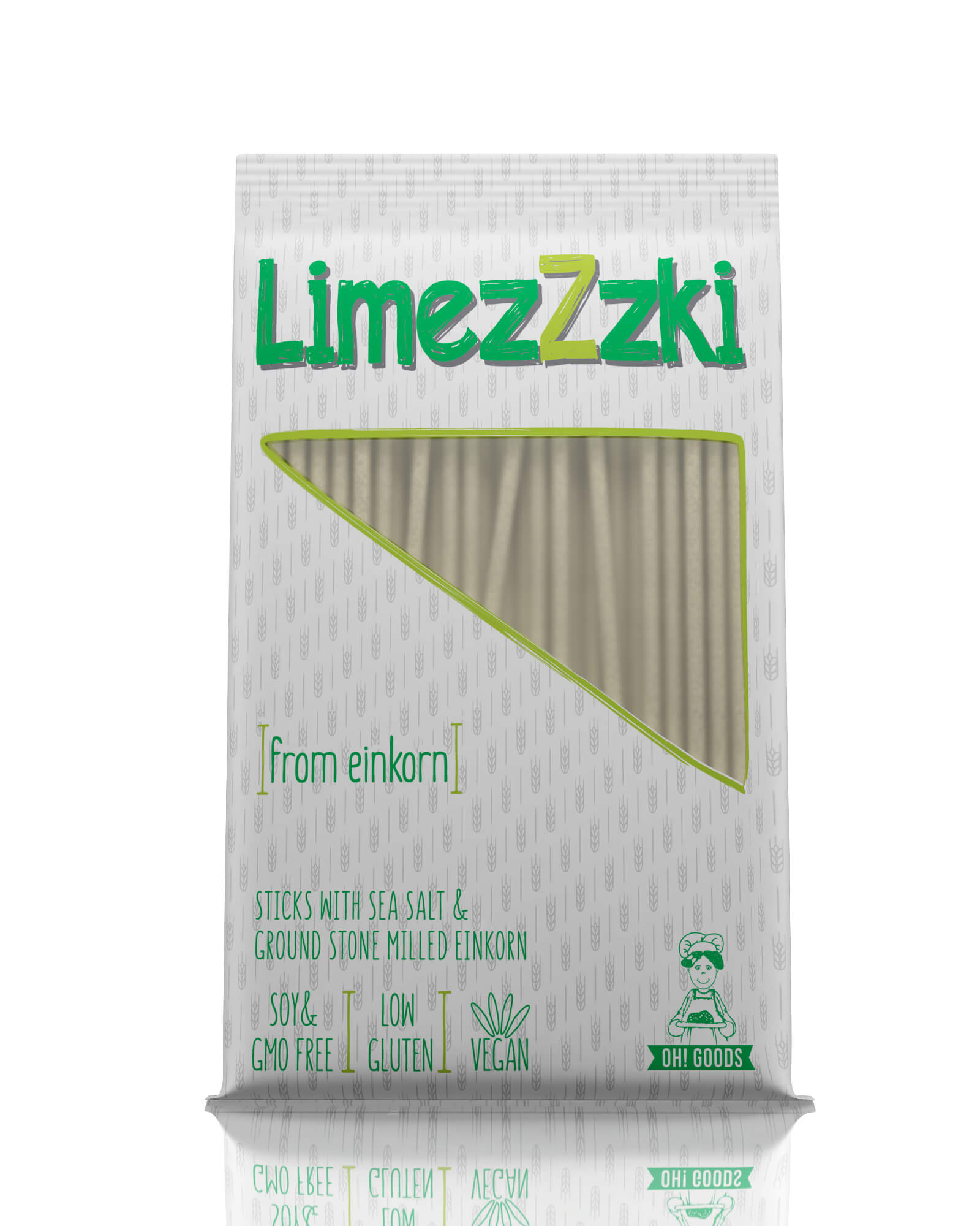 LimezZzki dinkel sticks low gluten