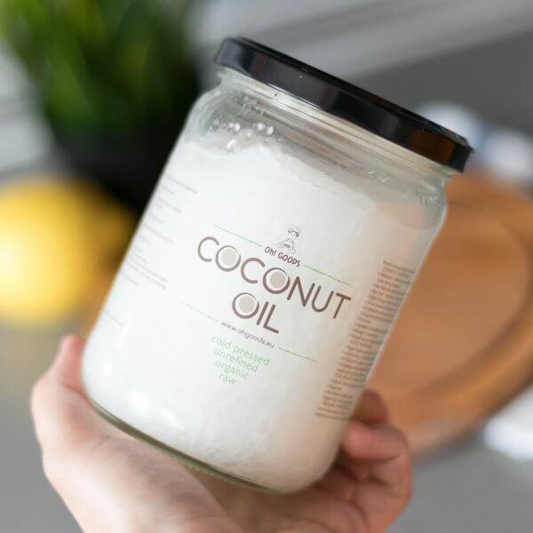 БИО нерафинирано кокосово масло Oh! GOODS 500мл премиум