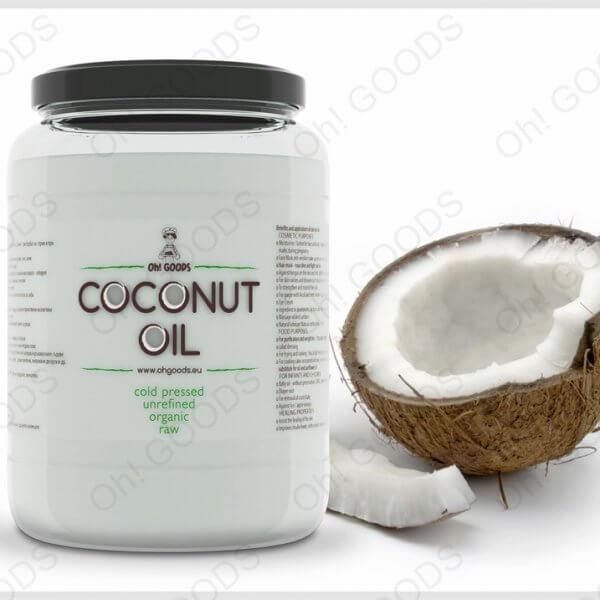Био кокосово масло нерафинирано 500мл Oh! GOODS