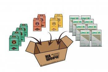 Регулярна доставка на веган сладки и солети