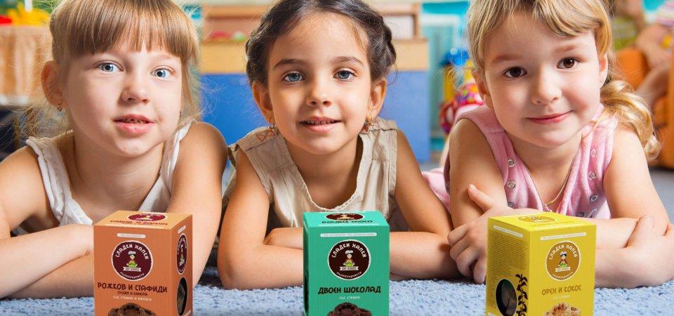 Здравословни сладки и солети за всички деца